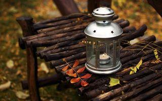 Бесплатные фото светильник,фонарь,свеча,пламя,стекло,скамейка,лавочка