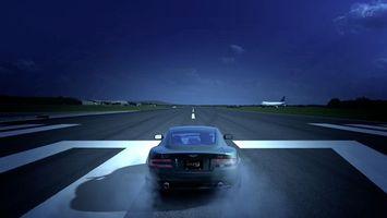 Photo free aston martin, airfield, runway
