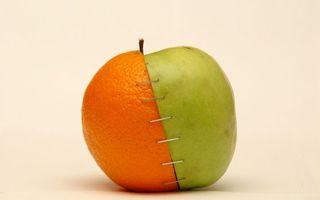 Бесплатные фото фрукты,апельсин,яблоко,скобы