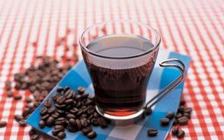 Бесплатные фото чашка,стекло,кофе,черный,зерна,салфетка