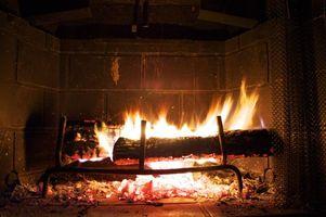 Photo free fire, fireplace, coals