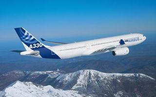 Фото бесплатно самолет, пасажирский, аэробус