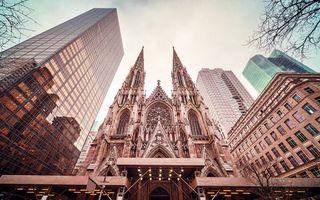 Фото бесплатно Маттиас Хакер, красивый городской пейзаж, небоскребы