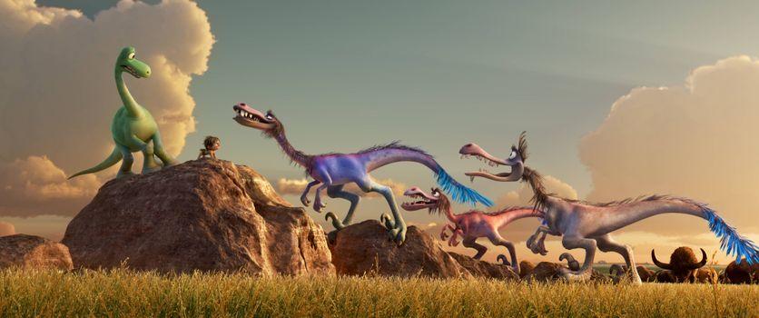 Фото бесплатно комедия, приключения, хороший динозавр