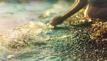 Фото бесплатно берег, жажда, девушка