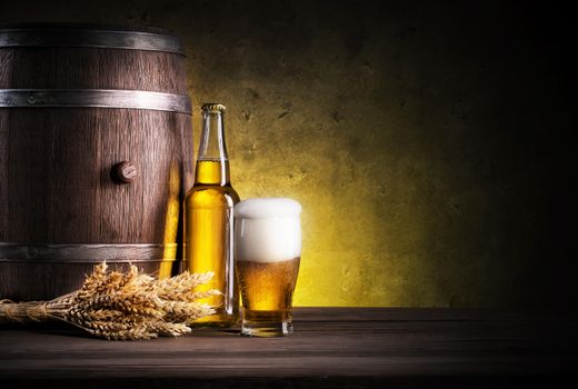 Photo screensaver beer barrel
