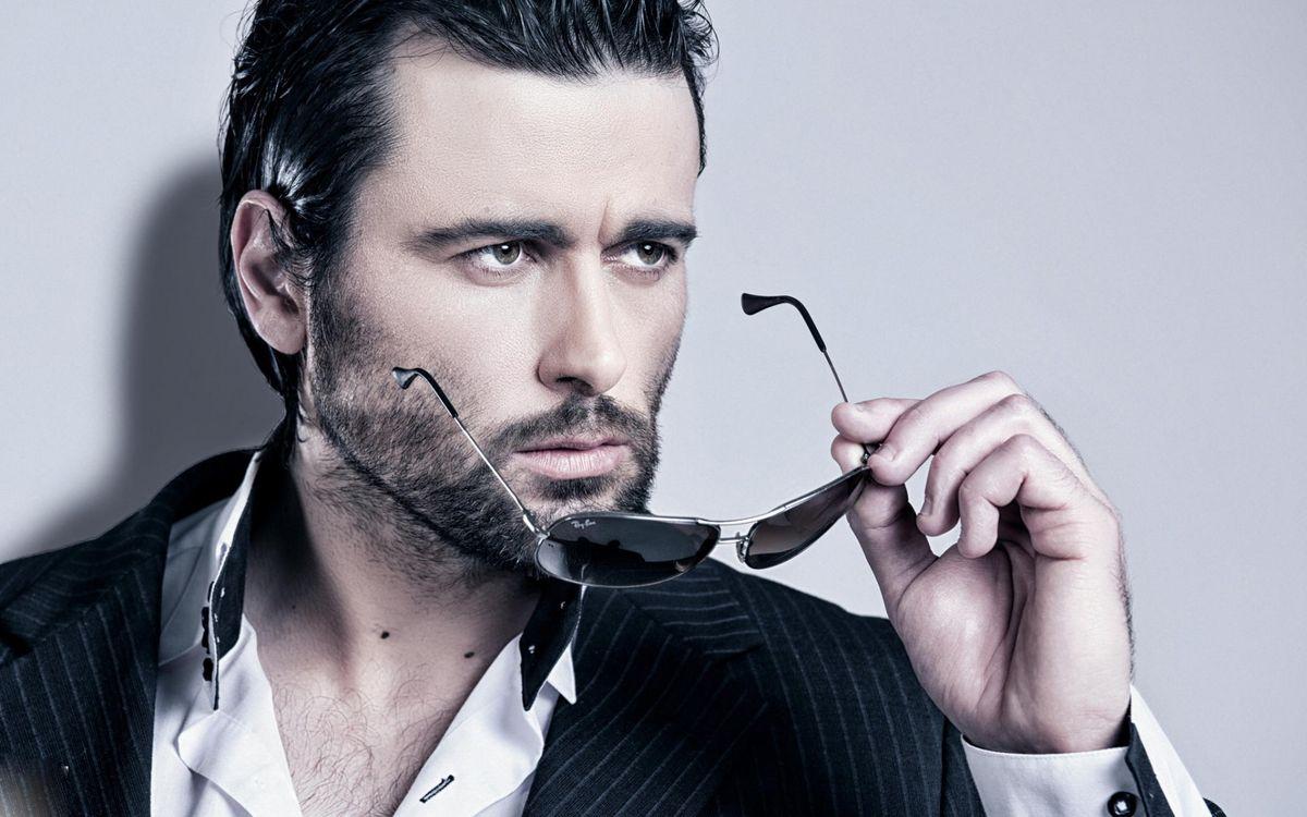Free photo man, style, bristles - to desktop
