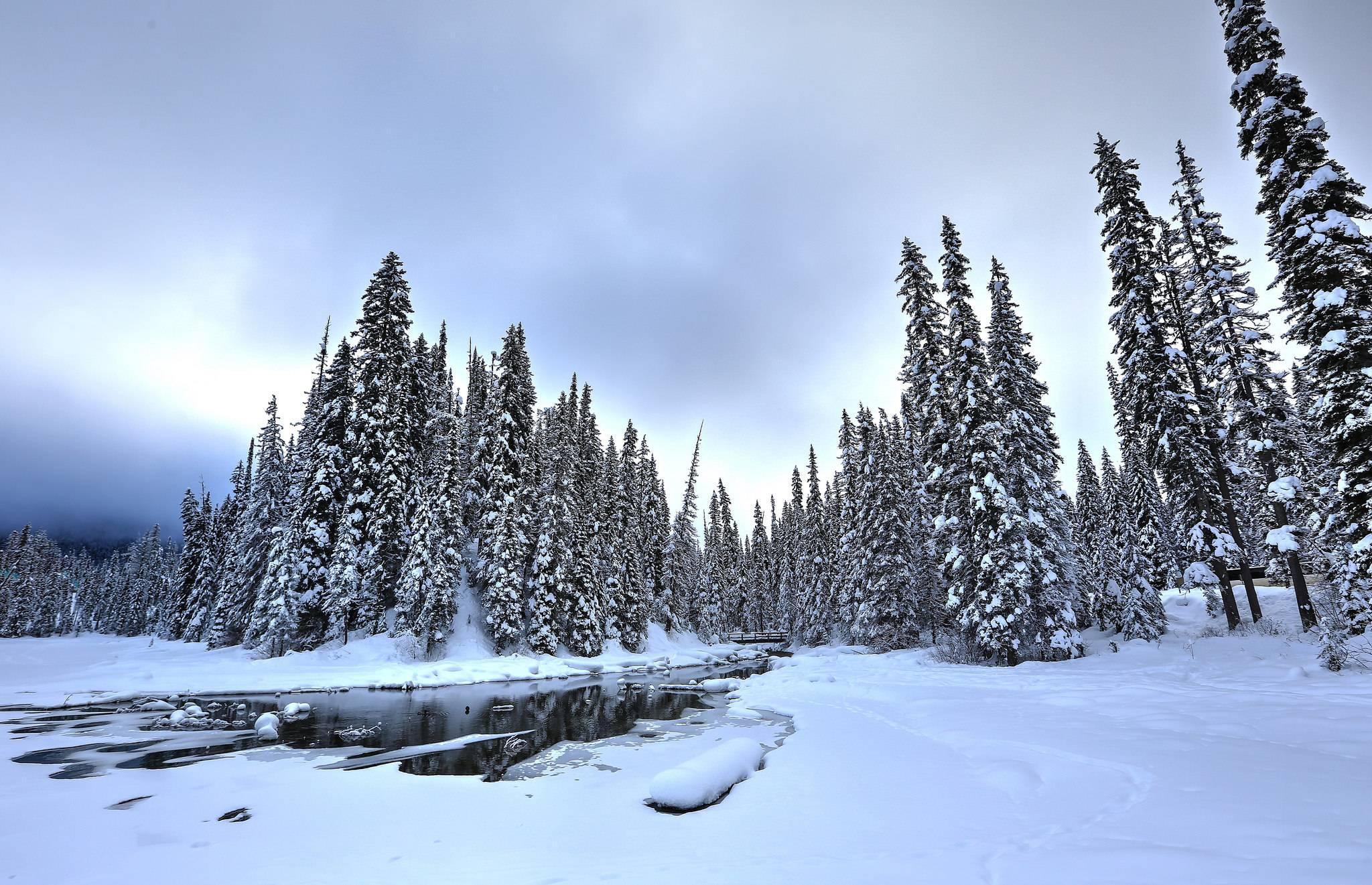 Изумрудное озеро, Национальный парк Йохо, Британская Колумбия