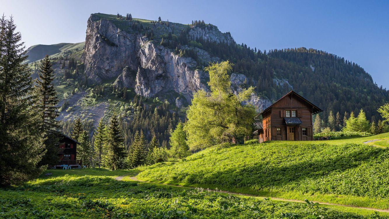 Фото бесплатно Швейцария, горы, скалы - на рабочий стол