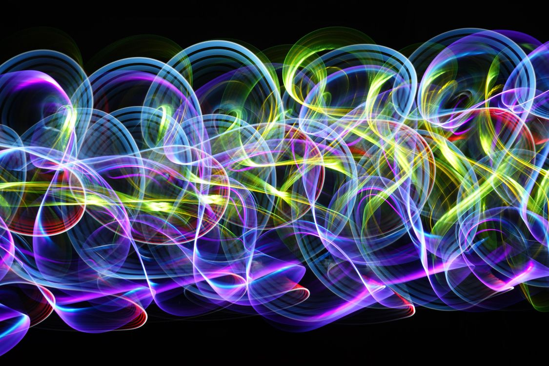 Free photo abstraction, circles, multicolored - to desktop