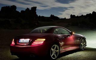 Photo free night, Mercedes, lights