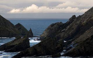 Фото бесплатно горизонт, скалы, море
