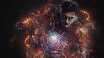 Бесплатные фото Железный человек,костюм,энергия,сила,власть,полет,постер