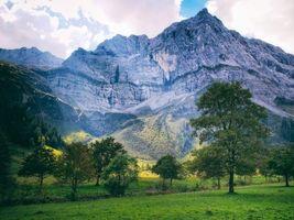 Заставки Австрия, поле, пейзаж