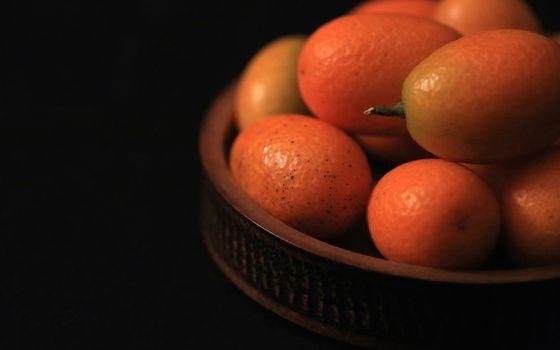 Фото бесплатно фрукты, апельсины, корзинка