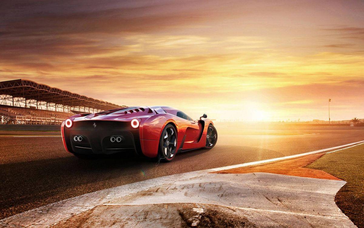 Фото бесплатно спортивный автомобиль, света, стоит - на рабочий стол