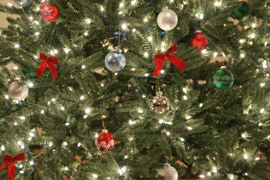 Фото бесплатно дизайн, елка, игрушки