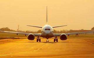Фото бесплатно пассажирский, самолет, шасси