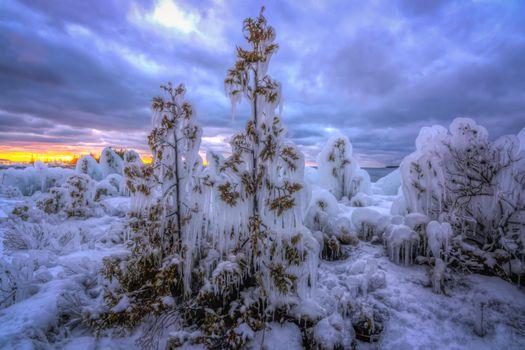 Фото бесплатно озеро Гурон, полуостров Брюс, Онтарио