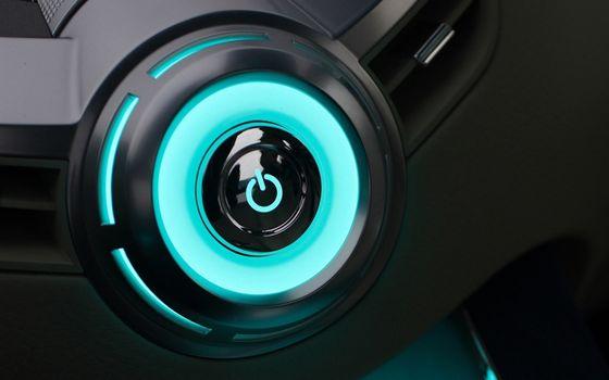 Фото бесплатно кнопка, включения, свечение, пластик, аппаратура