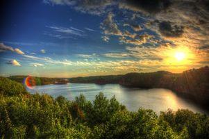 Бесплатные фото закат,река,лес,деревья,Nashwauk,Minnesota,пейзаж