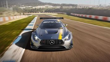 Фото бесплатно Mercedes-AMG GT3, трек, гонка