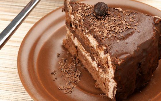 Фото бесплатно тарелка, торт, крем