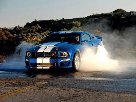 Фото бесплатно Dodge Charger, мощь, паленая резина