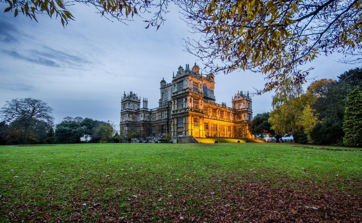 Photos for free Wollaton Hall, Woolaton Hall, Woolaton Park - to the desktop