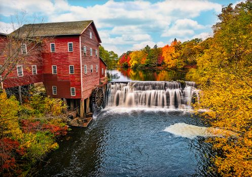 Photo free Dells Mill, Augusta, Wisconsin