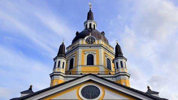 Фото бесплатно здание, церковь, облака