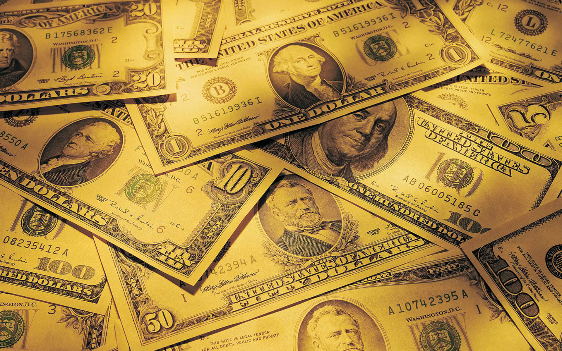 обои доллары, баксы, купюры, банкноты картинки фото