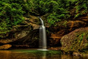Photo free Ohio, waterfall, nature