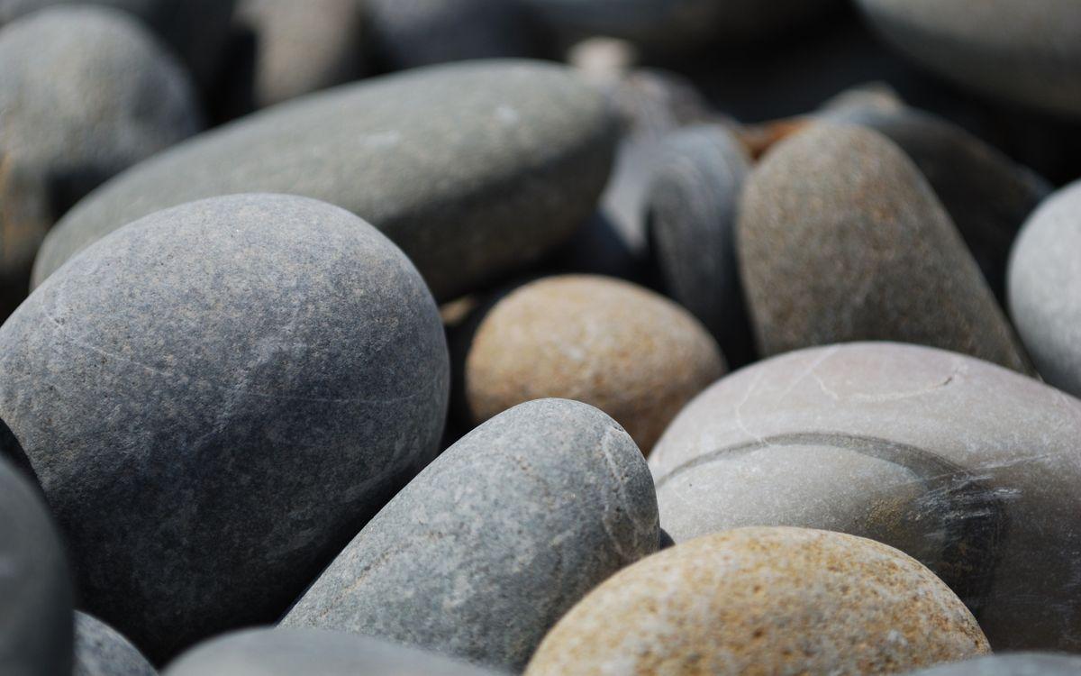 Фото бесплатно камни, гладкие, галька, разного, цвета, узор, природа