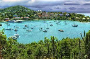 Фото бесплатно Крус-Бей, Американские Виргинские острова, море