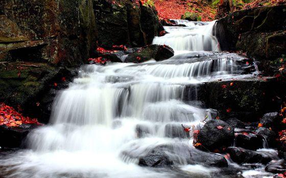 Фото бесплатно водопад, речей, пороги