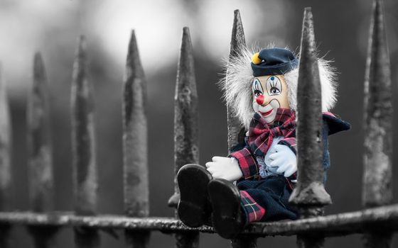 Photo free fence, metal, toy