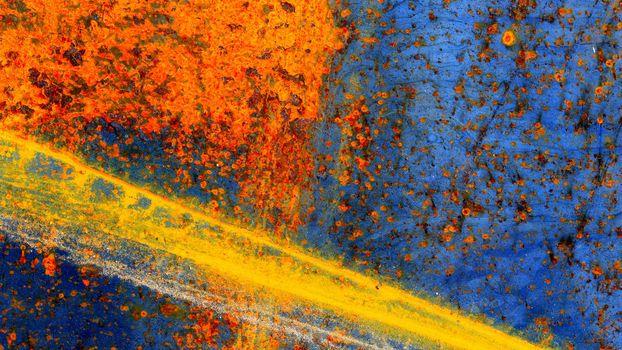 Бесплатные фото краски,синий,оранжевый,желтый