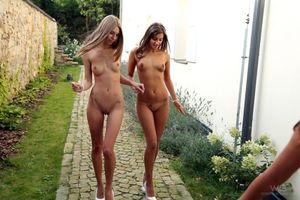 Бесплатные фото Abby,Maria,девушки,модели,эротика,голые девушки