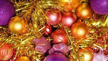 Фото бесплатно шары, дизайн, рождество