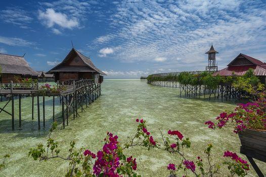 Фото бесплатно Kapalai, Semporna, острова