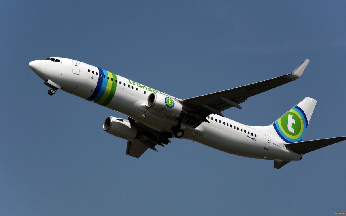 Фото бесплатно самолет, пассажирский, крылья - на рабочий стол