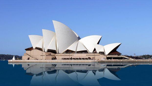 Фото бесплатно австралия, сидней, сиднейский оперный театр