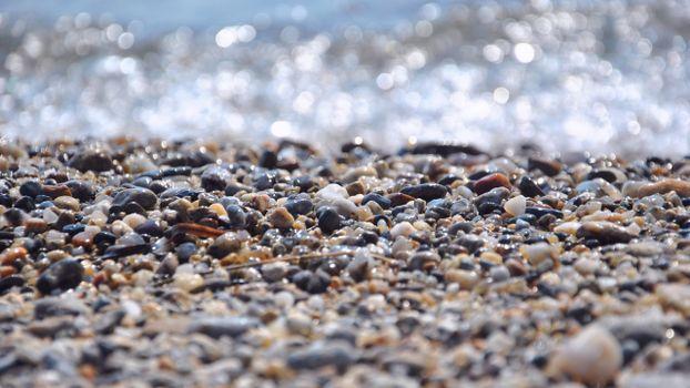 Фото бесплатно берег, камушки, цветные