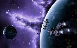 Фото бесплатно космос, планеты, вселенная