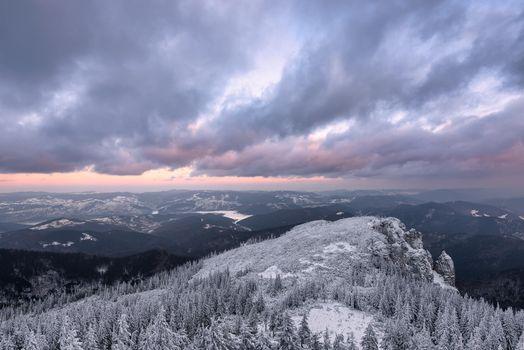 Фото бесплатно зима, горы, Румыния