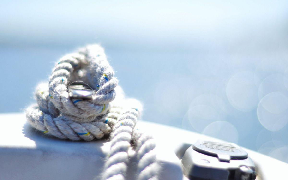 Фото бесплатно канат, веревка, компас - на рабочий стол