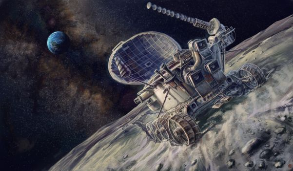 Photo free Lunokhod, USSR, the moon
