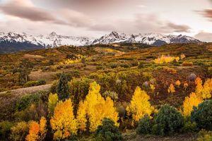 Заставки осень,горы,деревья,пейзаж