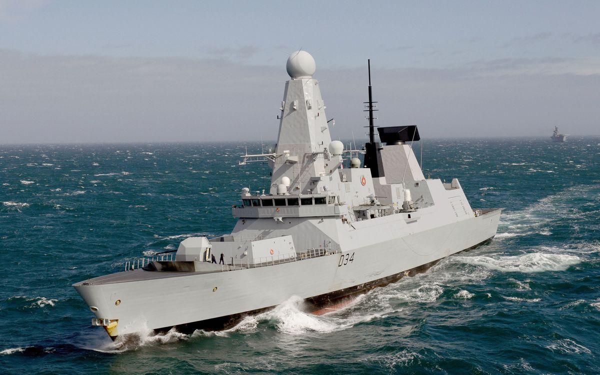 Фото бесплатно море, волны, корабли, военные, антенны, поход - на рабочий стол